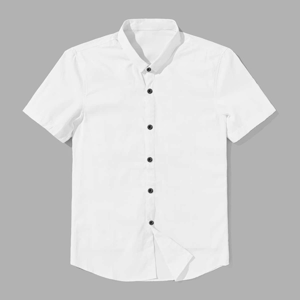 Men Plain Shirt
