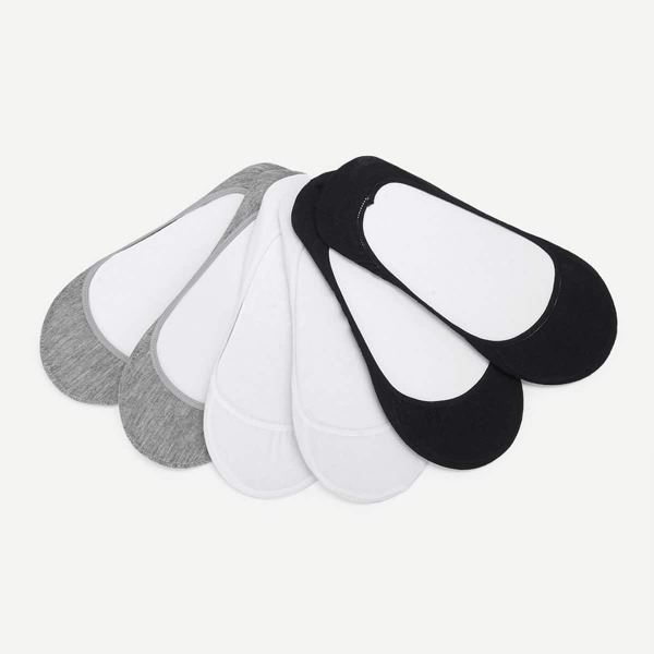 Invisible Socks 6pairs, Multicolor