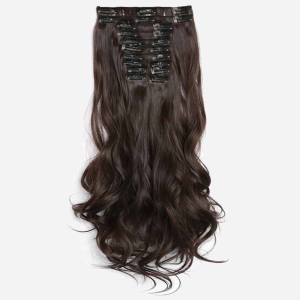 Clip In Soft Wave Hair Extension 1pc