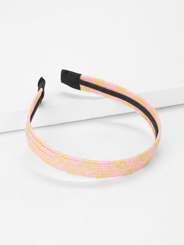 Woven Two Tone Headband