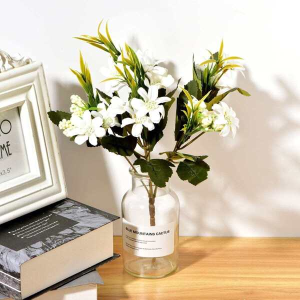 Artificial Flower Bunch With 6pcs Branch