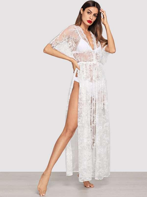 Платье вечернее без бретелек с кружевным вырезом без нижнего белья, Andy