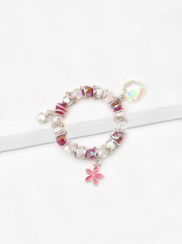 Girls Colored Beaded Bracelet, null