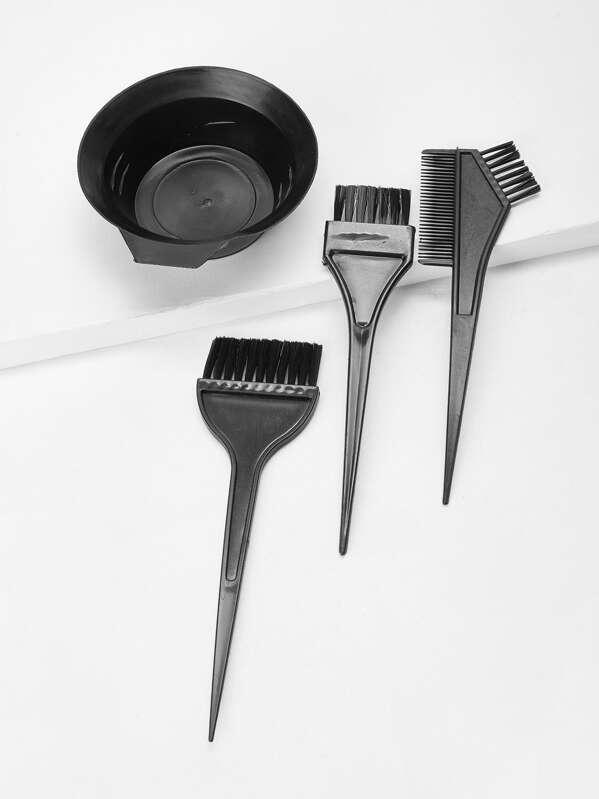 Чашка для красимых волосы и кисть 4 шт