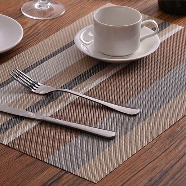 Striped Print Placemat