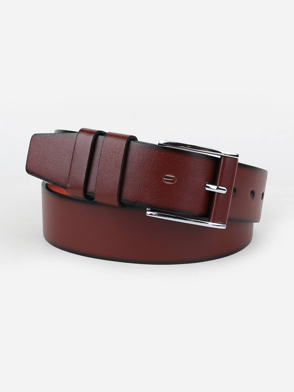 Men Metal Buckle Belt, null