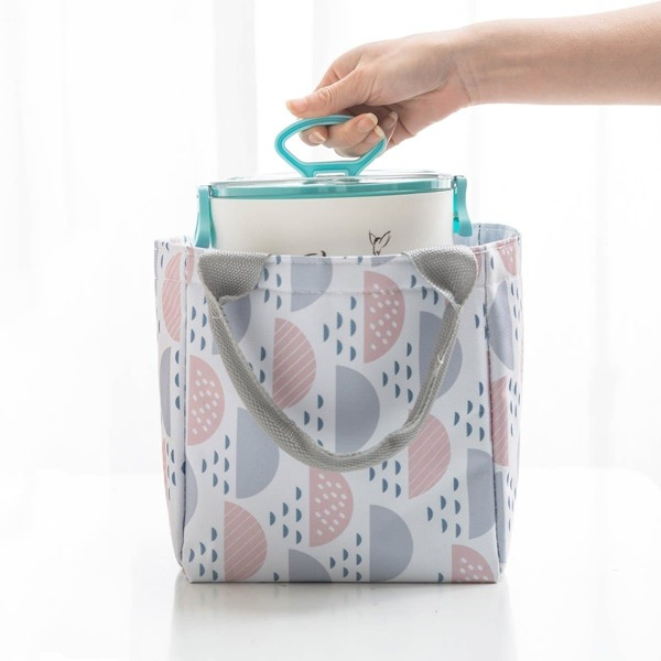 Semicircular Pattern Lunch Bag