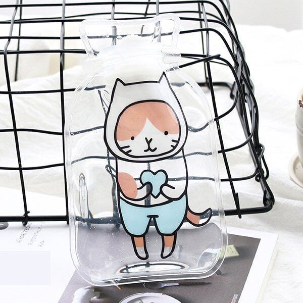 Cartoon Clear Hot Water Bag