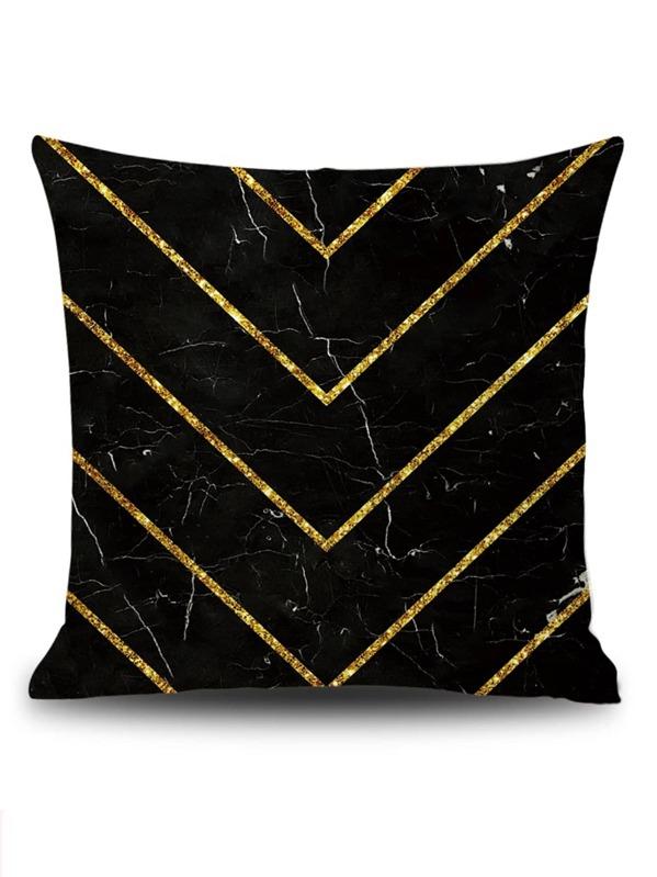 Chevron Pattern Cushion Cover, null