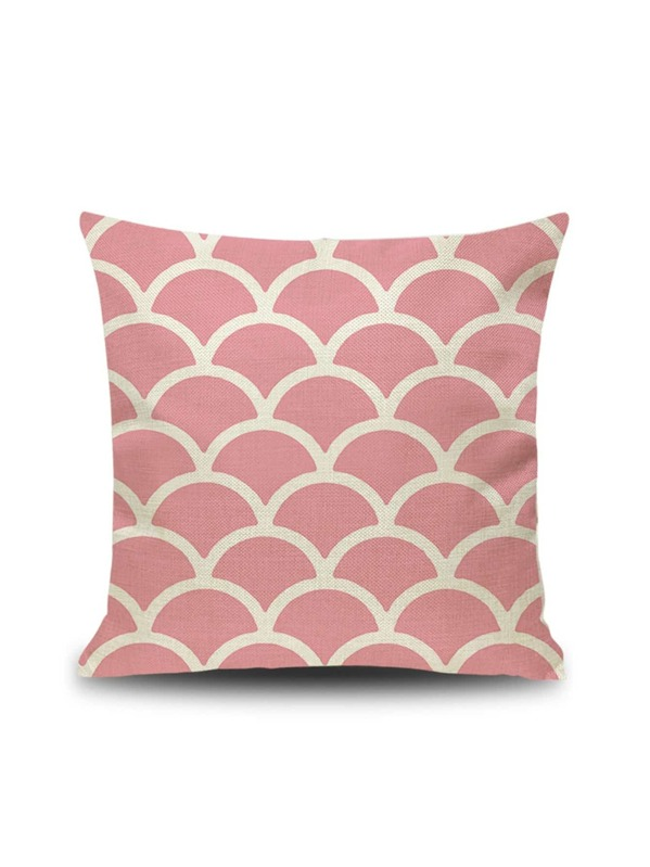 Scale Pattern Cushion Cover, null