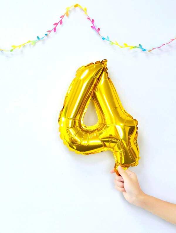Digital Decorative Balloon 1pc