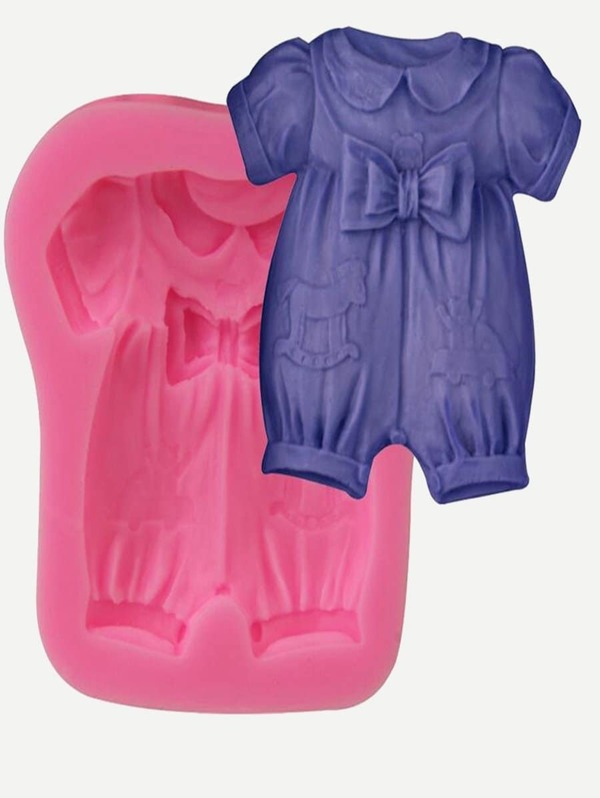 Clothes Shape Baking Mold 1pc, null