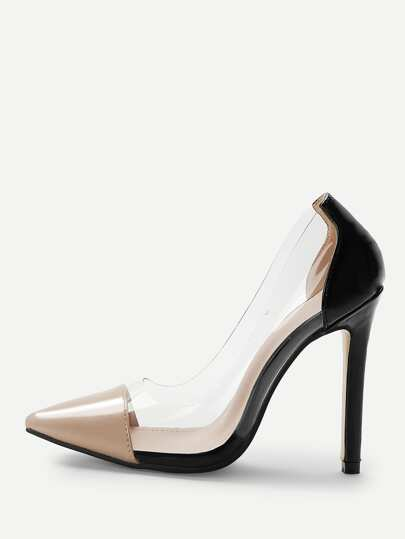 Shein Chaussures À Talon Aiguille