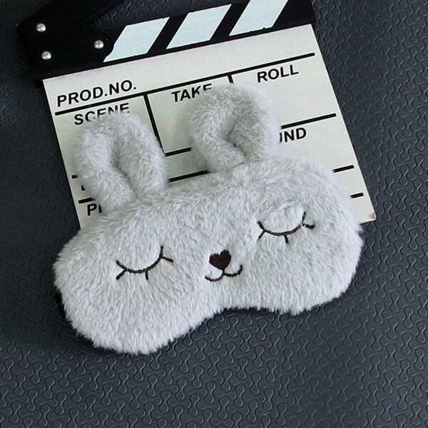 Cartoon Rabbit Shaped Eye Mask