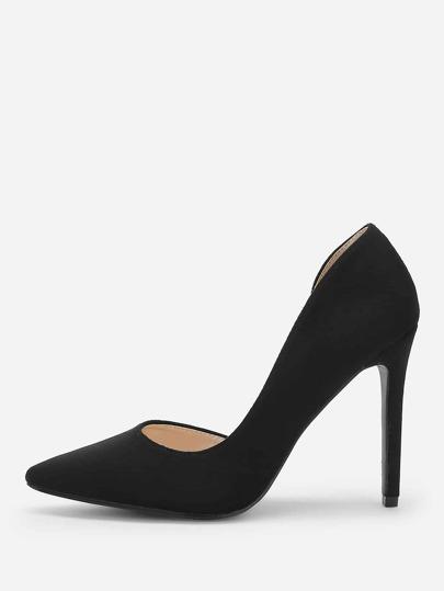 Shein Chaussures À Talons Aiguilles Plaines À Bout Pointu