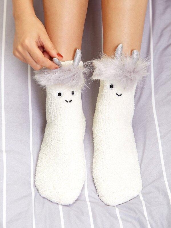 Animal Pattern Socks, null