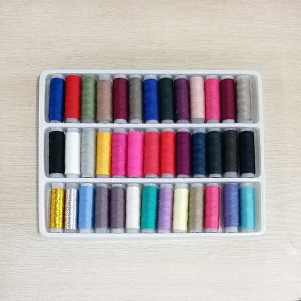 Multicolor Sewing Thread 39pcs