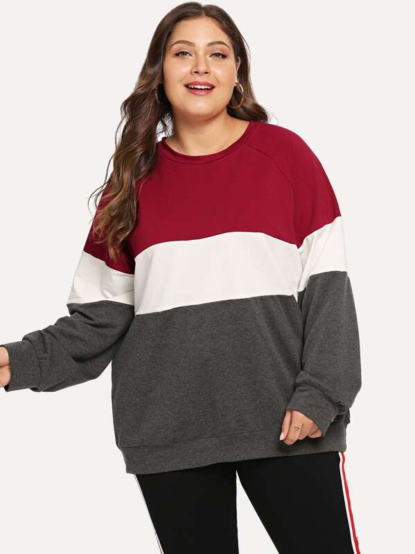 Plus Cut And Sew Sweatshirt, Carol
