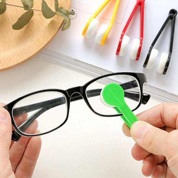 Random Color Glasses Cleaning Brush 1pc