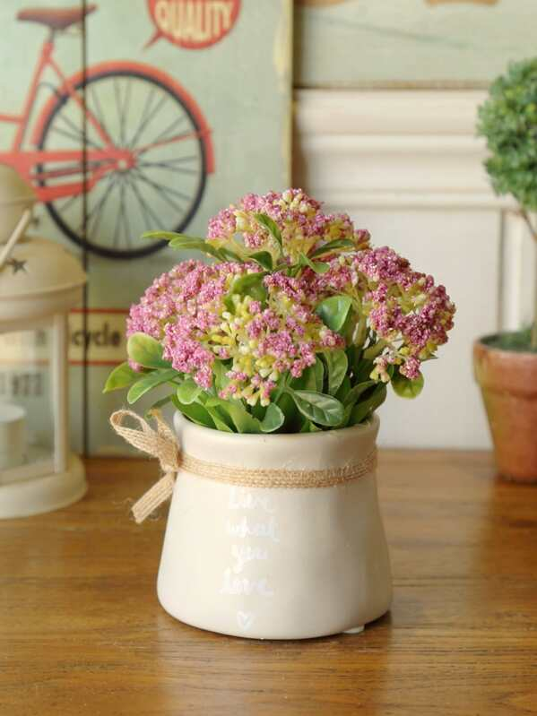 Artificial Potted Flower