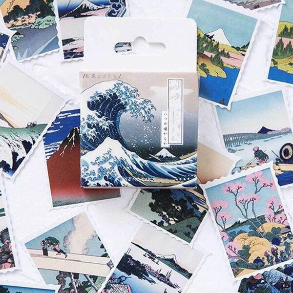 Scenery Print Decal 46pcs