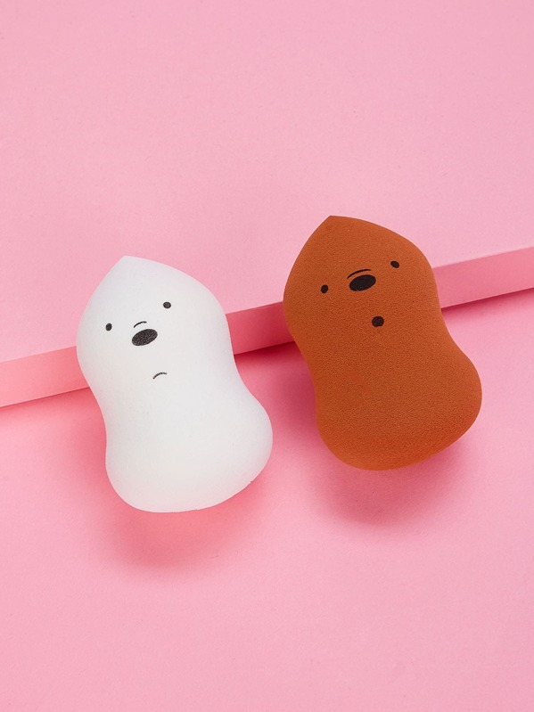 Cute Makeup Sponge 2pack, null