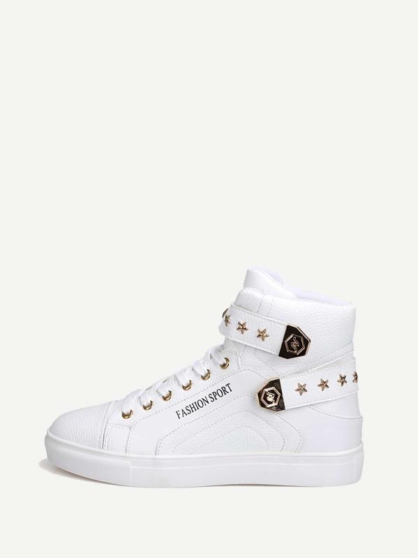 Мужская спортивная обувь с пяткой и звездой, null