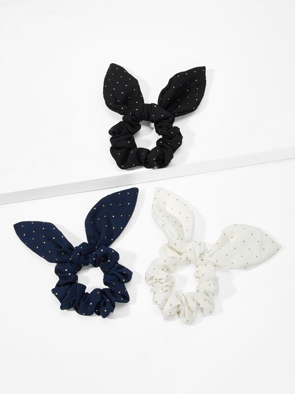 Bow Knot Hair Tie 3pack, null