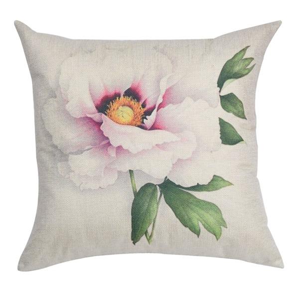 Flower Print Pillowcase