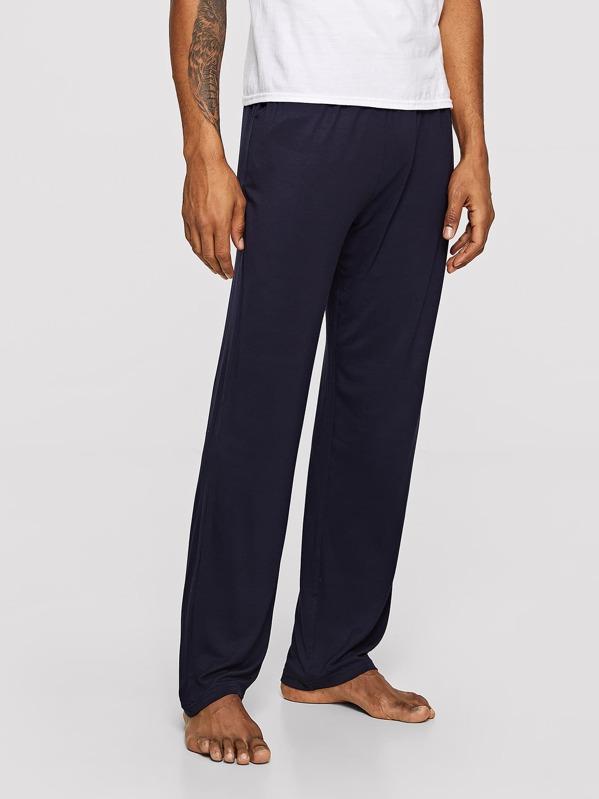 Men Solid Sleep Pants