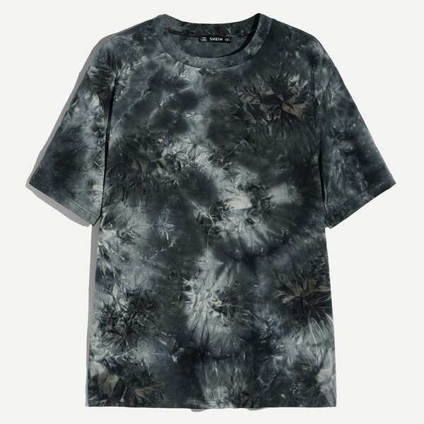 Men Tie Dye Short Sleeve Tee, Multicolor