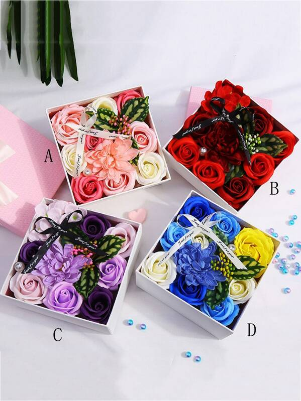 Boxed Artificial Flower 1pc