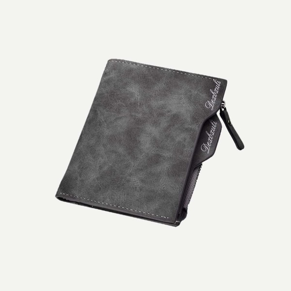 Men Fold Over Wallet With Coin Pocket