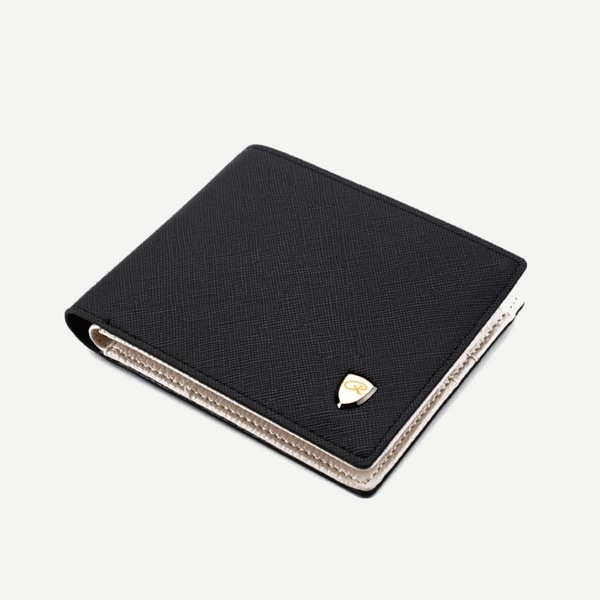 Men Fold Over Wallet With Card Slot