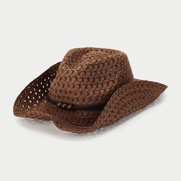 Kids Woven Cowboy Hat