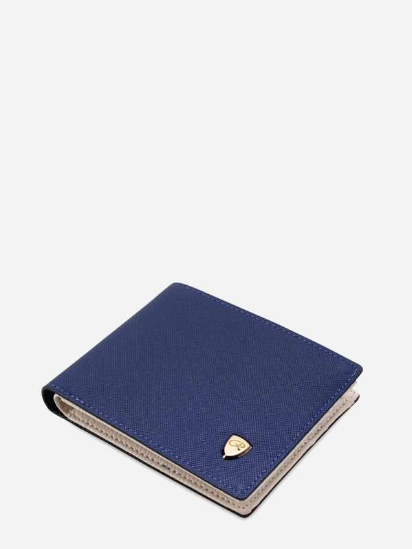 Men Fold Over Wallet With Card Holder, null