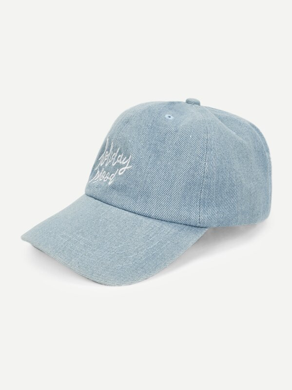 Letter Embroidery Baseball Cap, null