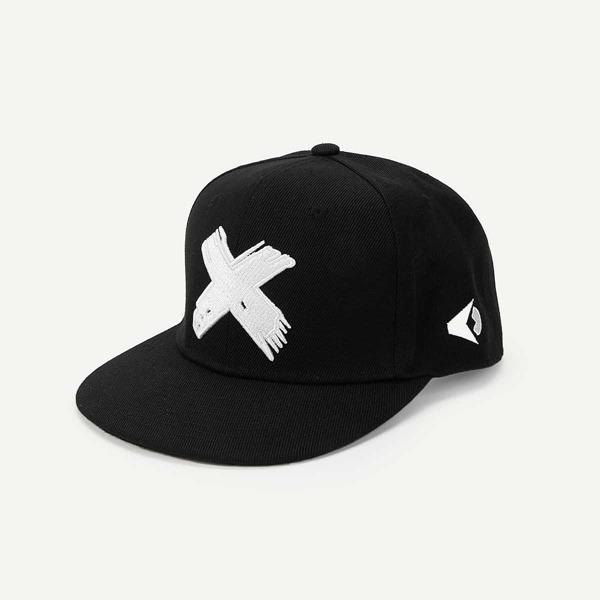 Men Embroidery Decor Baseball Cap