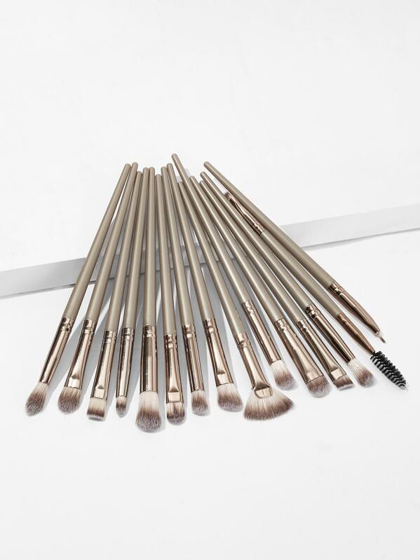 Metallic Duo-fiber Brush 15pcs