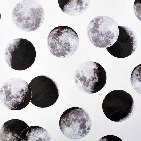 Boxed Moon Decal 45pcs