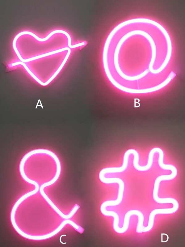 Symbol Design LED Light 1pc