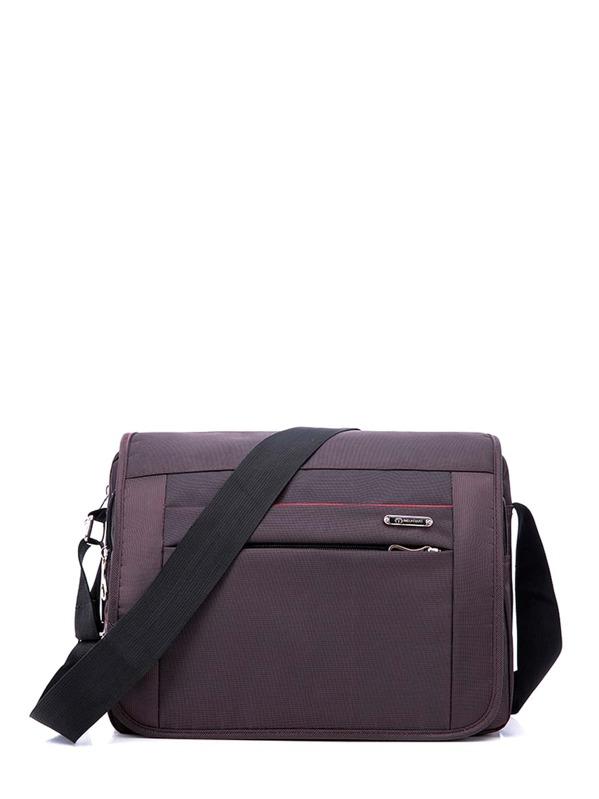 Men Pocket Front Crossbody Bag