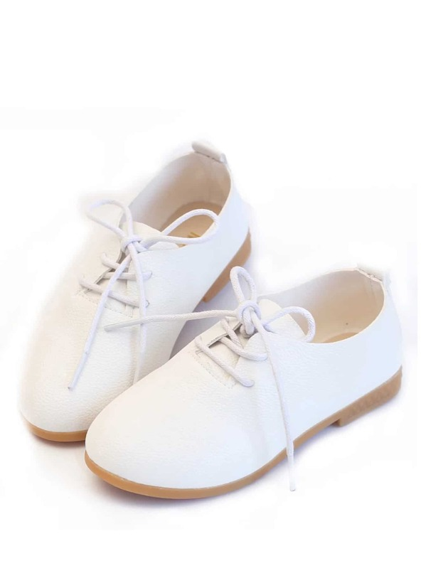 Toddler Girls Lace-up Front Oxfords