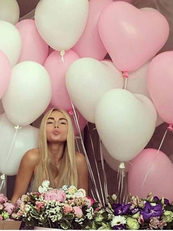 Heart Shaped Balloon 20pcs