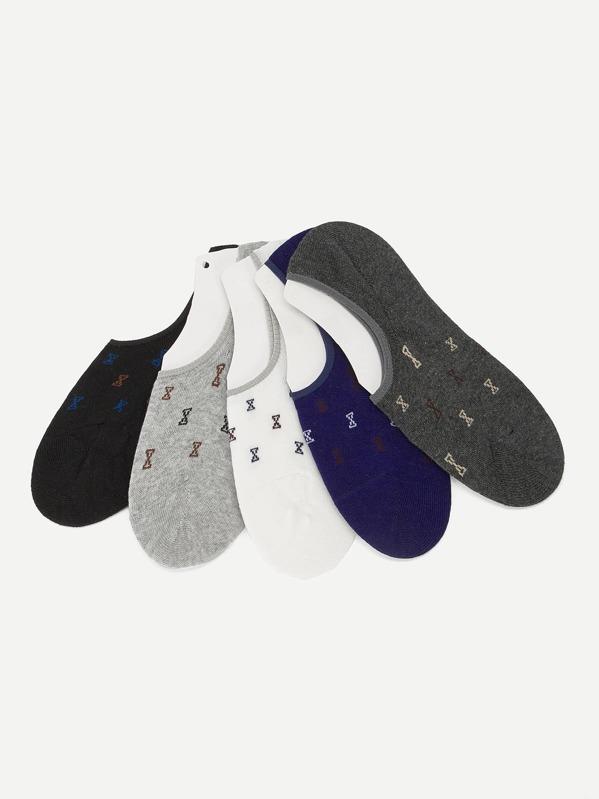 Men Invisible Socks 5pairs