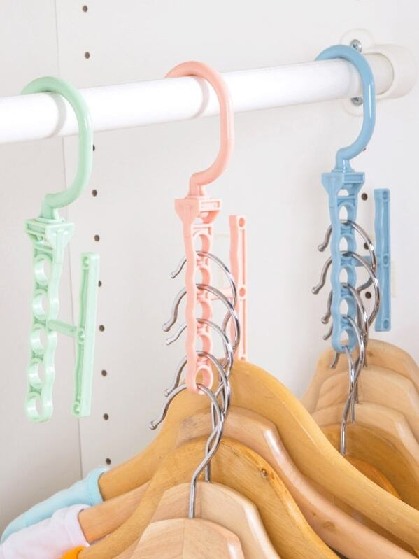 Rotatable Hanger 1pc With 5pcs Hole