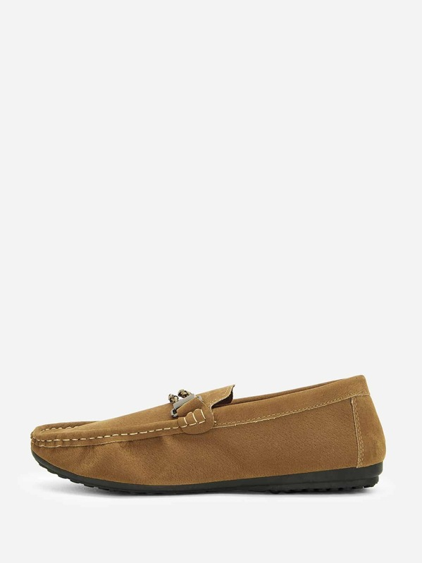 Men Slip On Flat Loafers