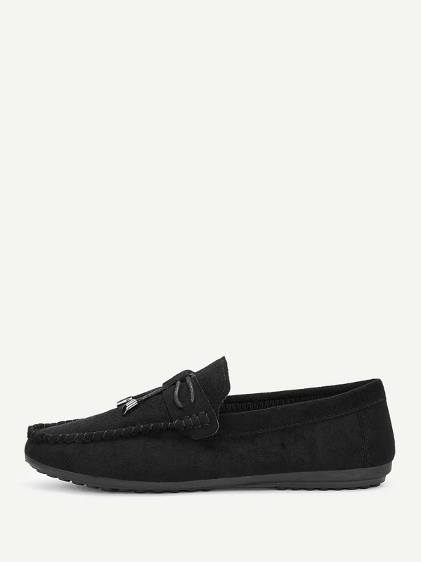 Men Slip On Suede Loafers