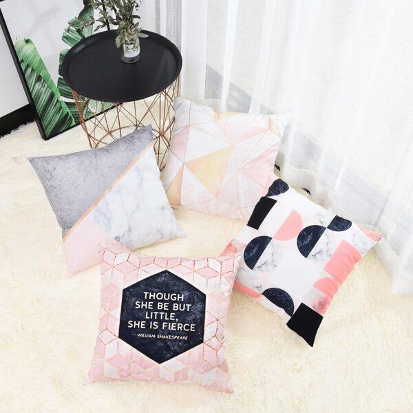Geometric Pattern Cushion Cover 1pc
