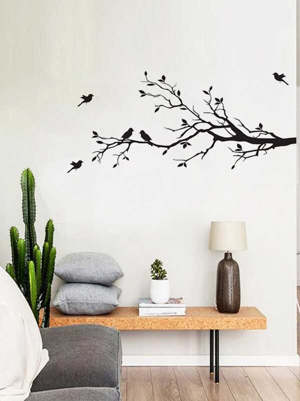 Tree & Bird Wall Sticker